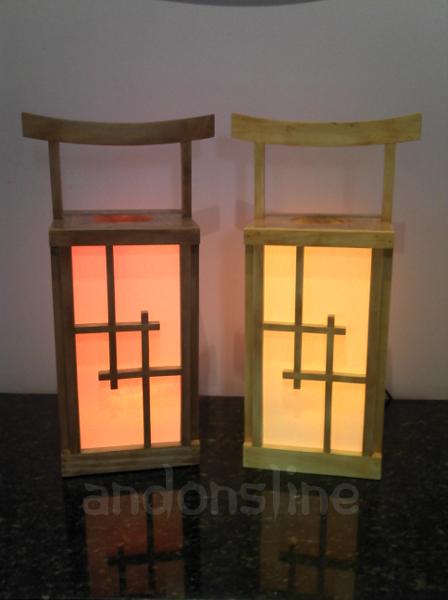 Japanese Style Lanterns Adorable Japanese Andon Style Table Lanterns 2017